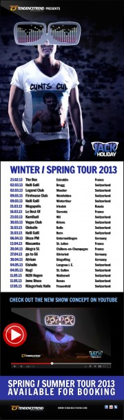 JackHoliday_SpringTour_2013
