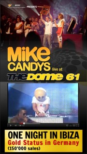 Mike Candys live @ The Dome & Gold Award